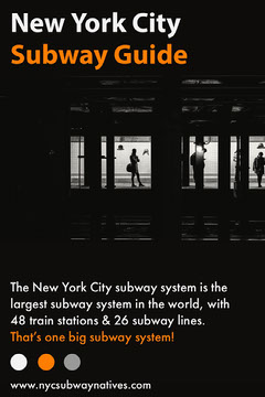 nyc subway pinterest graphic Guide