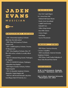 JADEN EVANS Resume