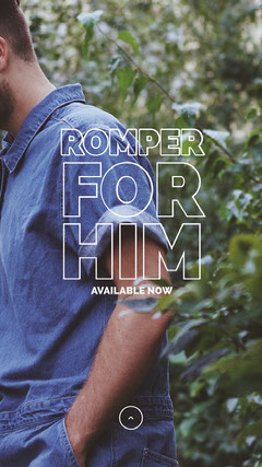Romper <BR>For<BR>Him Clothing