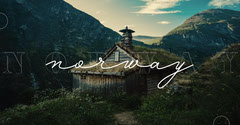 Norway Facebook Cover Typography