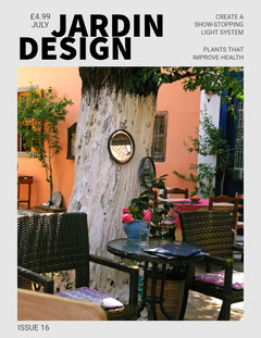 Light Toned Jardin Design Magazin Cover Furniture Sale