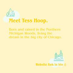 Meet Tess Hoop. City