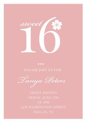 16 Invitación de cumpleaños