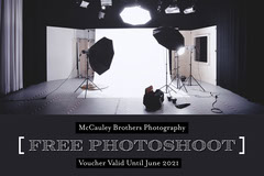 Black and White Photography Studio Voucher Deal