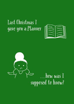 Green Funny Christmas Card jeff-test-5