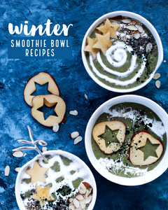 winter smoothie bowl recipe igportrait  Winter