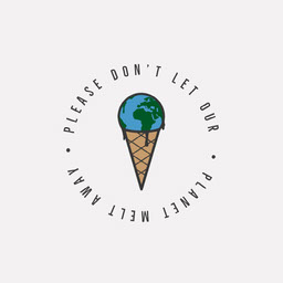 Planet Ice Cream Cone Melt Away IG Square
