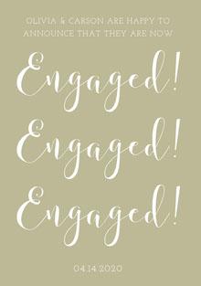 Engaged! <BR>Engaged! <BR>Engaged! <BR>
