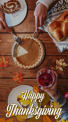 Colorful Happy Thanksgiving Snapchat GeoFilter Thanksgiving