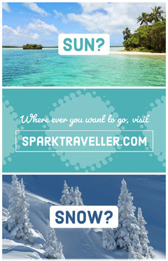 Blue Travel and Tourism Agency Ad Flyer Travel Agency