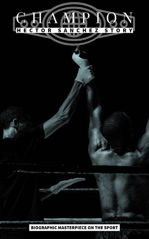 Black and White, Boxing Champion Story, Kindle Book Cover una biografía profesional