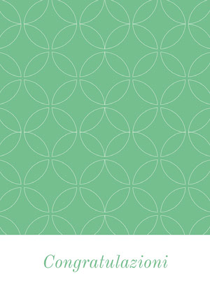 mint green and white patterned congratulations cards Biglietto di congratulazioni