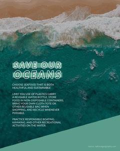 save our oceans Ocean