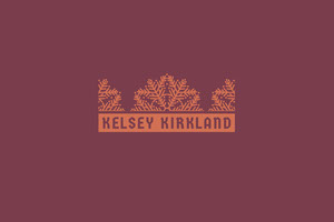 Brown and Red Business Brand Logo Label