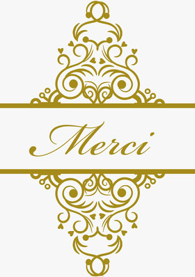 white and gold embellished wedding thank you cards Carte de remerciement