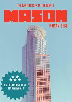 Red and Blue Skyscraper Photo Book Cover  Architecture