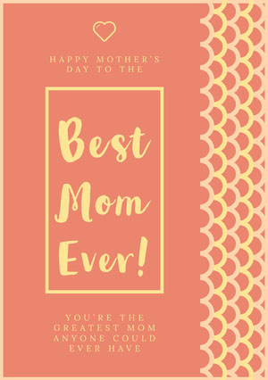 Best Mom Ever! Mother's Day Card