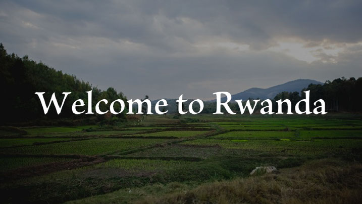 GG Example project: Welcome to Rwanda