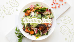 Healthy Eating Youtube Channel Art Banner Health Poster