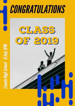 Class of 2019 Graduation Poster